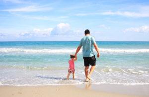 un père et sa fille