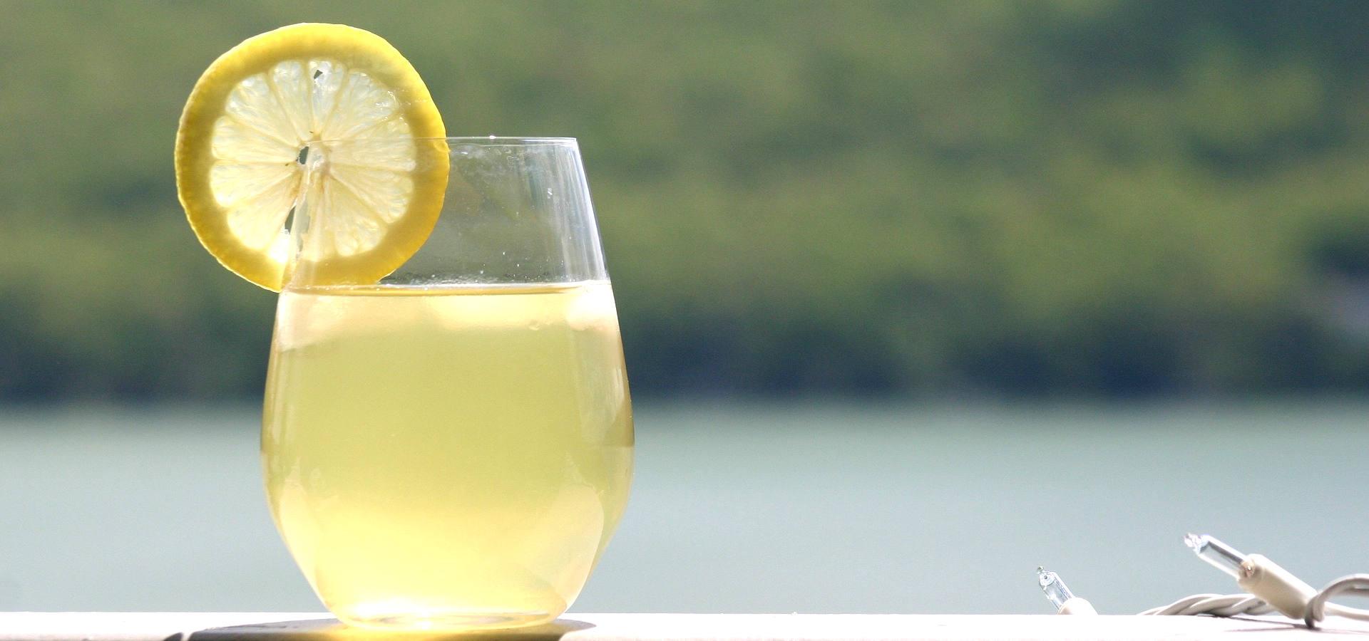 Boisson citronnée